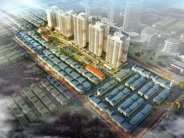 Mua bán ký gửi nhà đất dự án liền kề Hibrand Văn Phú - Hà Đông
