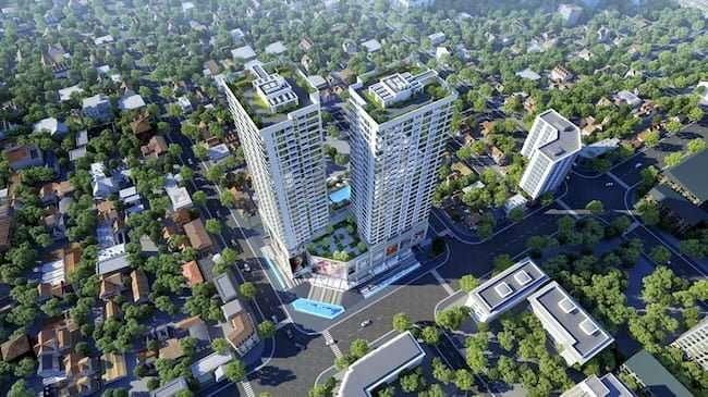 Hình ảnh dự án Harmony Square nhìn từ trên cao