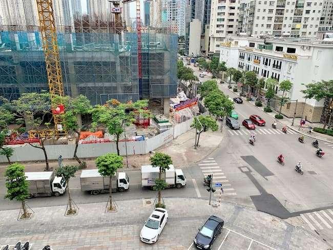Cập nhật tiến độ dự án Harmony Square Nguyễn Tuân