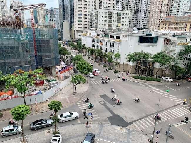 Vị trí 4 mặt tiền đắc địa của Harmony Square Nguyễn Tuân